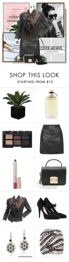 """""""Signing the deal"""" by valc5 ❤ liked on Polyvore featuring Alessandro Dell'Acqua, NARS Cosmetics, Topshop, Ilia, Furla, Lanvin, Miu Miu, DB Designs and Ross-Simons"""