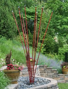 Kinetic Garden Sculpture