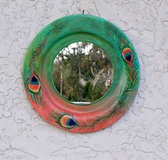 Pretty sure I need this...   Decorative wall mirrors. Bohemian decor Country by Georgiasita