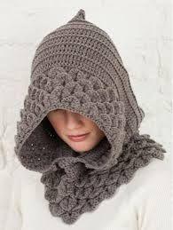 Ideas para el hogar: Capuchas dos agujas y crochet