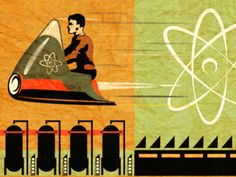 The Future Is Atomic  by David Cran