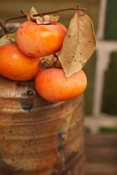 柿に合う花瓶