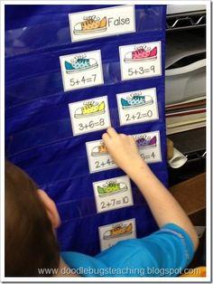 1st grade- math fact fun
