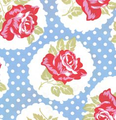 sweet fabric print...makes me think of the 30s-40s