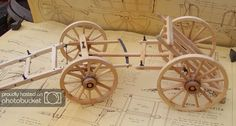 Explore Roger Sinclair& photos on Photobucket. Toy Wagon, Horse Wagon, Horse Drawn Wagon, Wood Crafts, Diy And Crafts, Wood Toys Plans, Old Wagons, Horse And Buggy, Chuck Wagon