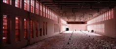 "A vision in white: Ann Hamilton's ""Corpus"" 2004: an installation both dramatic and meditative."