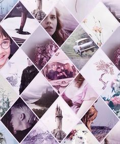 Harry Potter in pink