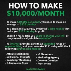 Business Money, Business Tips, Business Entrepreneur, Business Baby, How To Get Money, Earn Money, Planning Budget, Budgeting Money, Investing Money
