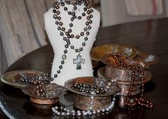 Now Whitney Beads has a Home Collection and I am loving it!!