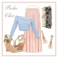 """""""Boho Chic: Semi Formal"""" by linearfilm ❤ liked on Polyvore featuring Uniqlo, MICHAEL Michael Kors, Lilly Pulitzer, Chanel, skirt, Sweater, boho, designer and styleguide"""