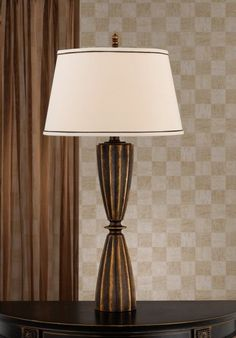 Use just bottom section, have rod coming straight up , change to colored paint finish - from PQS Antique Table Lamp: 7366TL-L