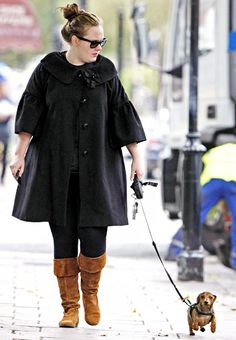 Just another reason to love Adele. She owns a doxie. So cute!