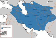 Afghanistan - The Timurid dynasty self-designated Gurkānī, was a Persianate, Central Asian Sunni Muslim dynasty of Turco-Mongol lineage which ruled over the whole of Iran, modern Afghanistan, modern Central Asia, as well as large parts of contemporary Pakistan, Mesopotamia, Anatolia and the Caucasus. It was founded by the militant conqueror Timur (Tamerlane) in the 14th century.