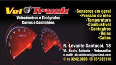 Velo Truck Velocímetros e Tacógrafos Carros e Caminhões
