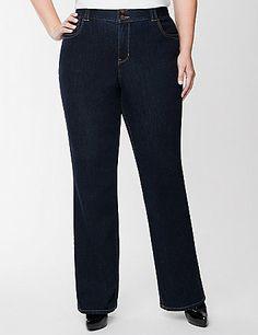 e01b487e4d8 Plus size jean with Tighter Tummy Technology