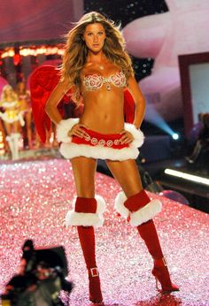 Victoria's Secret Fashion Show 2005 from Gisele Bündchen's Top Runway Moments  At $12.5 million, this bra is a fantasy indeed.