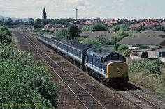Blackpool Bound Kingsman Regional Railways North West Class 37/4 37421 'The Kingsman' was working the 13:10 SO Holyhead to Blackpool North, recorded heading away from Rhyl. All images on this site are exclusive property and may not be copied, downloaded, reproduced, transmitted, manipulated or used in any way without expressed written permission of the photographer. All rights reserved – Copyright Don Gatehouse