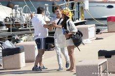 Pin for Later: Zac Efron and Michelle Rodriguez's Guide to Summer Vacation It can also transform into a handshake or a hug.