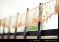 Tea Stained Lace- this would make a wonderful garter to add to our collection