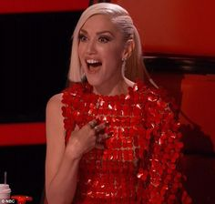 Totally surprised: Gwen Stefani was surprised by the proposal...