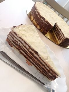 A hatlapos | Mai Móni Condensed Milk Cake, Hungarian Recipes, Hungarian Food, Winter Food, Tiramisu, Sandwiches, Cheesecake, Dessert Recipes, Food And Drink