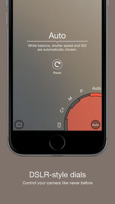 ProShot: A very professional looking photo & video app for iOs.