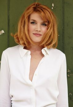 Emerald Fennell - SHE'S VERY BEAUTIFUL AND I LOVE HER GINGER HAIR.