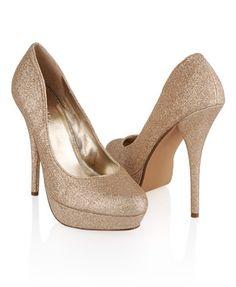 Glittered Stilettos - StyleSays