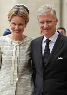 Queen Mathilde, July 31, 2013 | The Royal Hats Blog