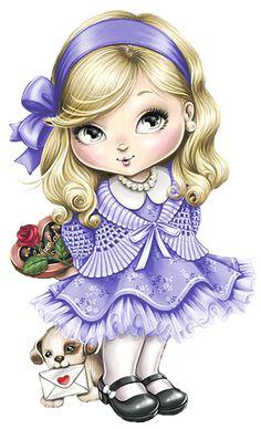 Pintura em tecido | Jolie Tilibra | bonecas