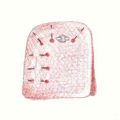 Tuto Le sac façon pliage en toile de Jouy rouge – Dans Mon Bocal Diy Sac, Longchamp, Tote Bag, Pattern, Bags, Tutorial Sewing, Pouch, Handbags, Patterns