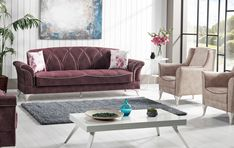 Canapea Extensibila 3 locuri Lagun Burgundy K1 #homedecor #inspiration #interiordesign #livingroom #decoration Love Seat, Burgundy, Couch, Throw Pillows, Living Room, Interior Design, Decoration, Bed, Inspiration