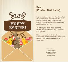 Easter email marketing templates