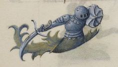 Detail of Hours of Joanna the Mad. 1496. Add_ms_18852_f117v_detail. British Library..