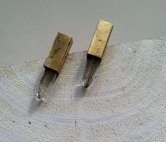 Crystal Dagger - earring studs; Uncovet