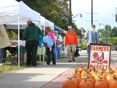 Saturday is Market Day at University Community Farmers Market in Buffalo, New York 8am - 1pm on Main Street at Kenmore Avenue on the South Campus of the University at Buffalo http://www.farmersmarketonline.com/fm/UniversityCommunityFarmersMarket.html