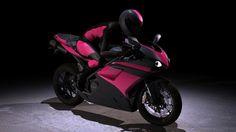 Dear Santa:  The matte pink and black Ducati super bike....  Naughty/Nice - it fits!