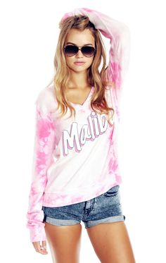 The Wildfox Barbie Dreamhouse Malibu Beach Baggy Beach Jumper