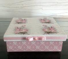 Resultado de imagem para caixas de madeira decoradas com guardanapos