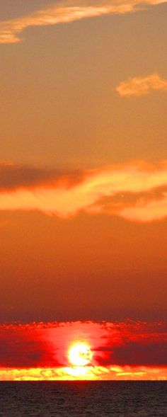 Sunset  long painting, don't ya think?