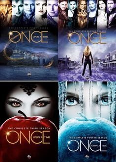 Once Upon a Time : Complete Four Seasons 1 - 4 Collection DVD, Movies And Series, Time Series, Movies And Tv Shows, Best Tv Shows, Best Shows Ever, Favorite Tv Shows, Killian Jones, Emma Swan, Captain Swan
