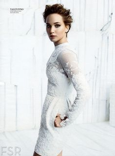 jennifer lawrence new instyle mag | JENNIFER LAWRENCE in Instyle Magazine, December 2013 Issue ...