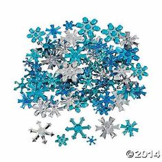 Snowflake Table Decorations
