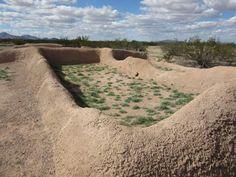 Casa Grande Ruins, Coolidge, AZ Amazing place in the desert #casagrande #nativeamericanarchitecture #nativeamericanengineering #nationalmonument