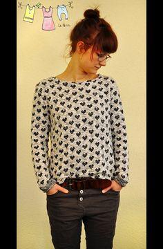 Nähanleitungen Mode - ★ ebook Damen Sweater - ein Designerstück von Kid5 bei DaWanda