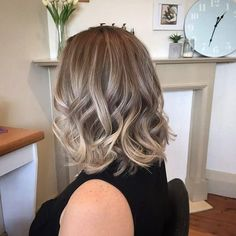 A cool toned root blend and balayage highlight #colourmelt #centralcoastsbest #hairstylist #hairgoals #ashblonde #livedinhair