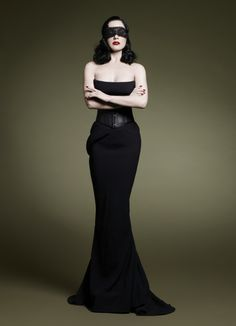 """""""A dress makes no sense unless it inspires men to want to take it off you"""" Dita"""