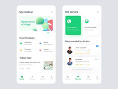 Personal medical homepage designed by fireman. Connect with them on Dribbble; the global community for designers and creative professionals. Web Design, Homepage Design, App Ui Design, Dashboard Design, Ui Kit, Communication Pictures, Ios, Budget App, Ui Design Inspiration