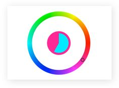 Play the Color Wheel Game!   This was a lot of fun!  Starts out easy.. and gets... well of course it gets harder