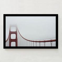 Framed Print - San Francisco #westelm